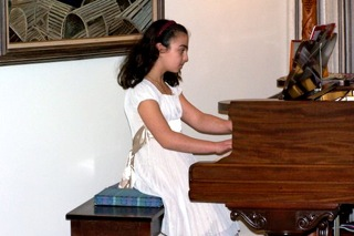 Piano students